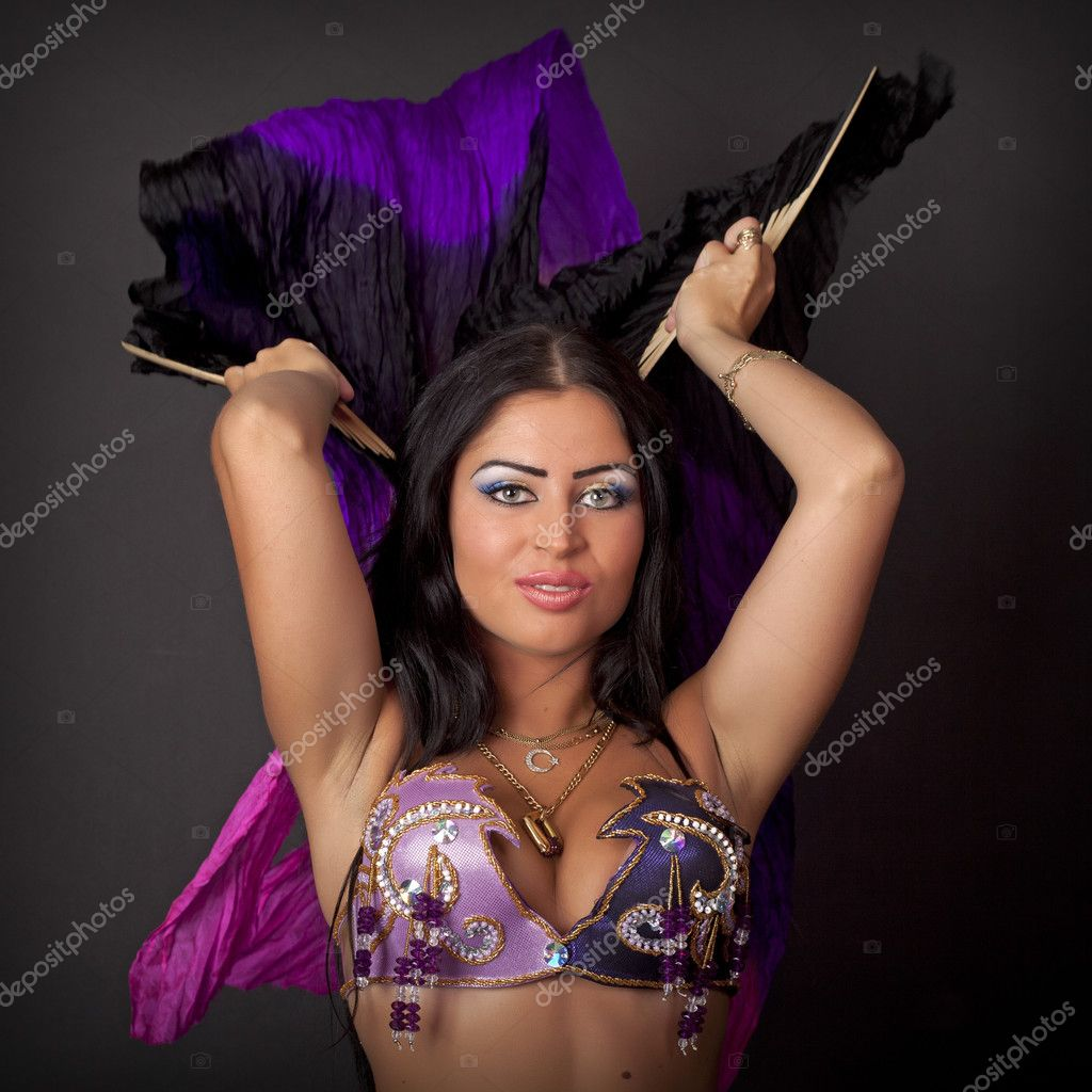 beautiful girl dancer of arabic dance — stock photo © kary1974 #9418222