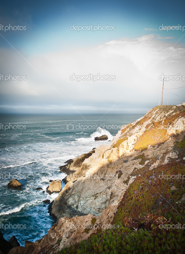 Pacific Coast Highway view — Stock Photo © avix #9062909