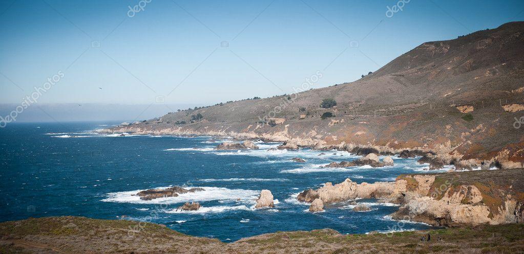 Pacific Coast Highway view — Stock Photo © avix #9063040