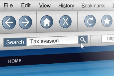 Tax evasion.