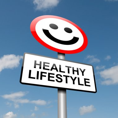 Healthy lifestyle concept.