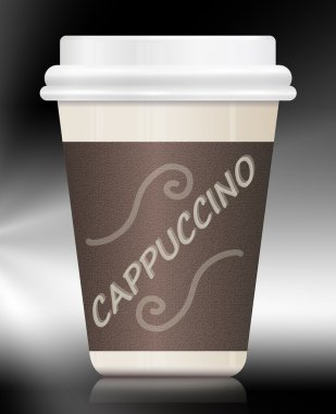 Cappuccino container.