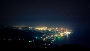 Night view of Sochi