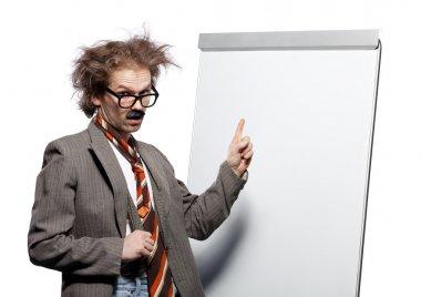 Crazy professor