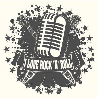 Symbol I love a rock'n'roll