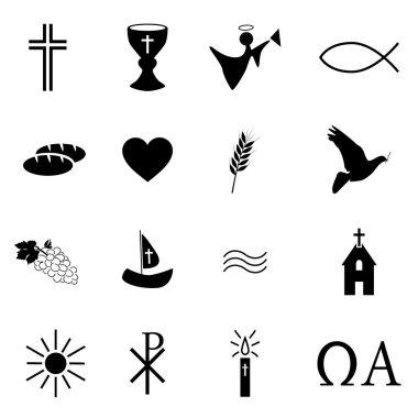 Christian religion symbols