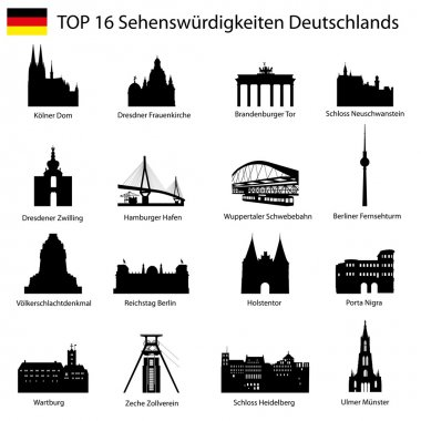 Illustration - Top 16 germany architecture