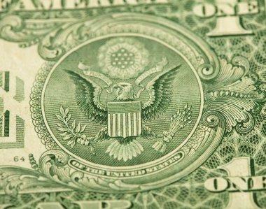 One dollar closeup