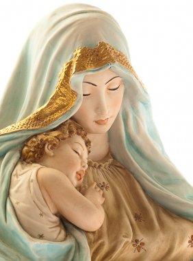 Virgin with jesus