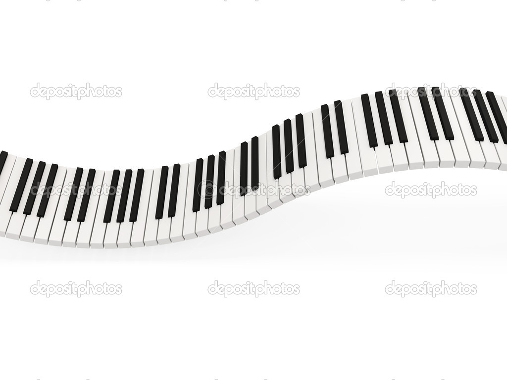 abstract piano keys on white background stock photo ras slava 10653191. Black Bedroom Furniture Sets. Home Design Ideas