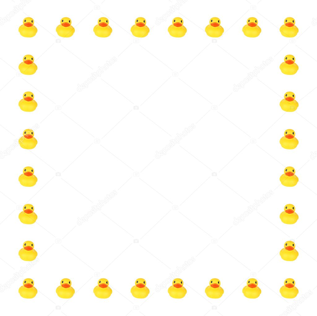 toy duck border stock photo  u00a9 vanell 9269736 duckling clipart outline duckling clipart black and white