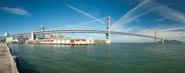 Suspension Oakland Bay Bridge in San Francisco to Yerba Buena Is