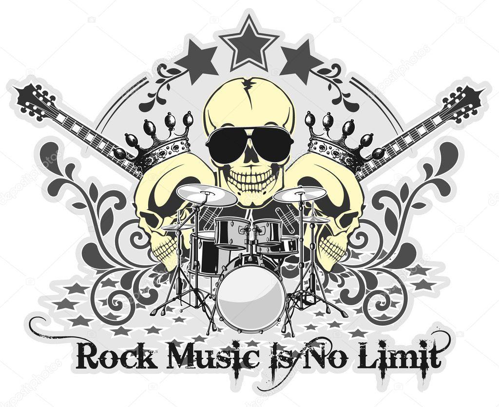 Rock n roll symbol 4 stock vector osipovev 10541823 rock n roll symbol 4 stock vector buycottarizona