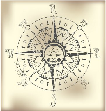 Compass Rose Illustration