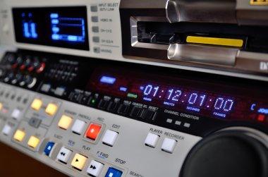 Professional video recorder. DVcam format