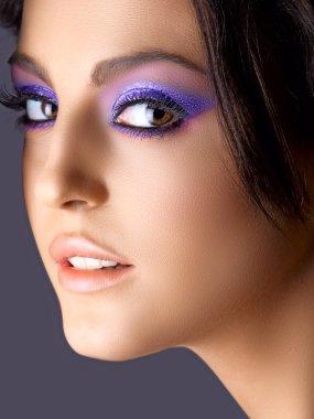 Italian beauty with fashion make-up