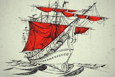 Vintgage Boat