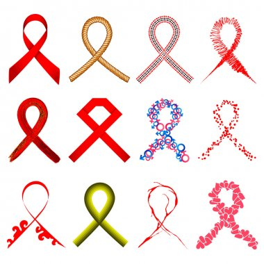 Aids Awarness Ribbon