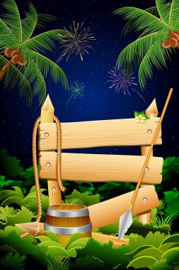 Jungle Party Banner