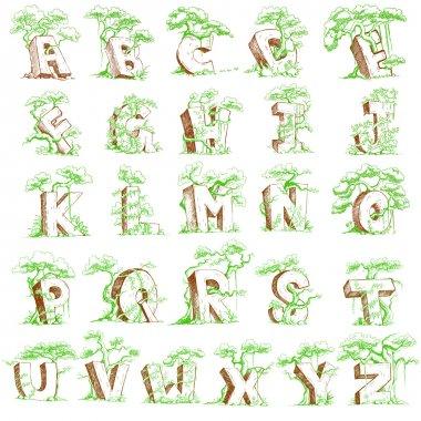 Natural Alphabet