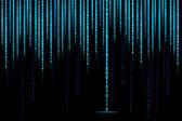 Fotografie matice binární pozadí