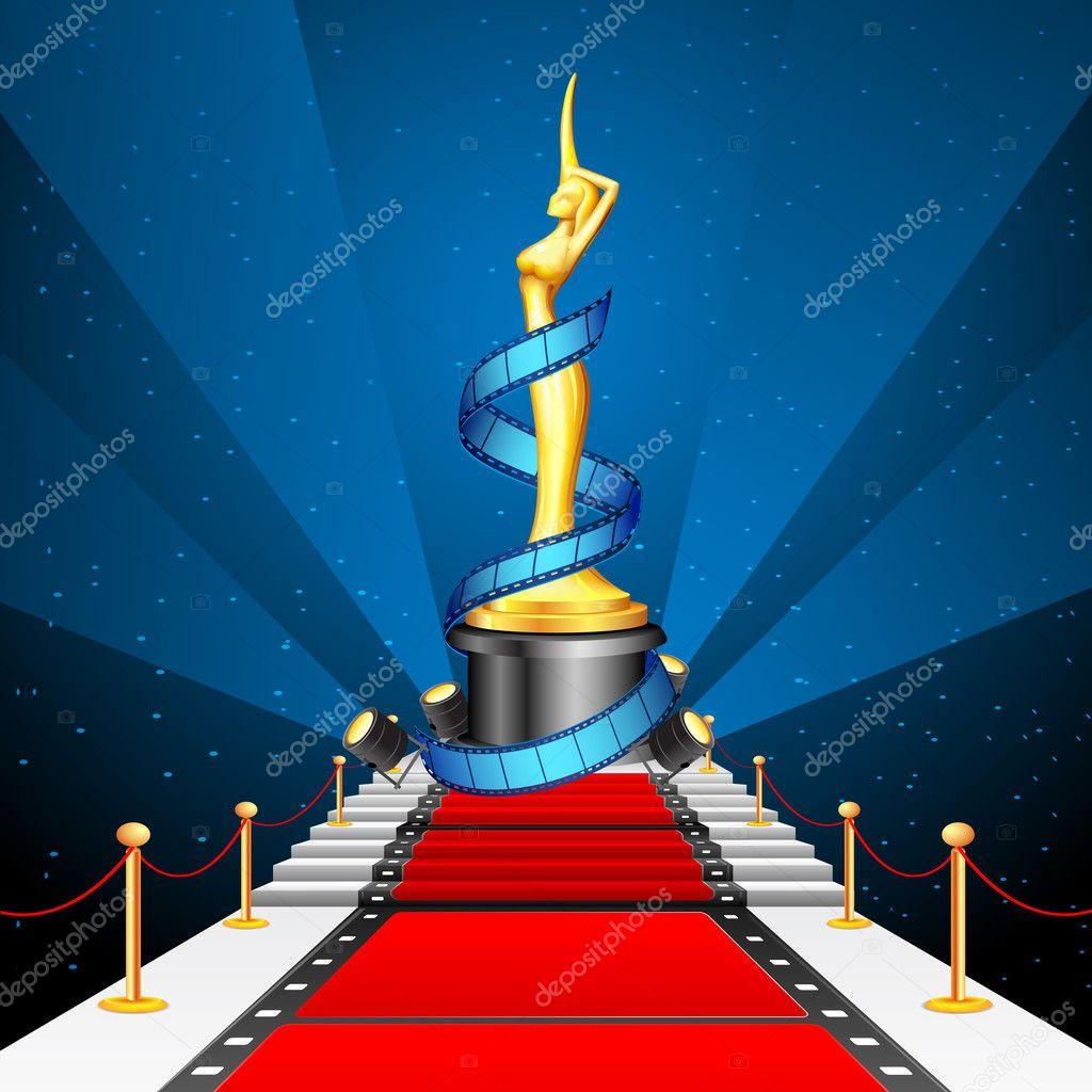 Cinema Award on Red Carpet