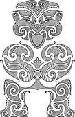 Fotografie Tiki tetování design