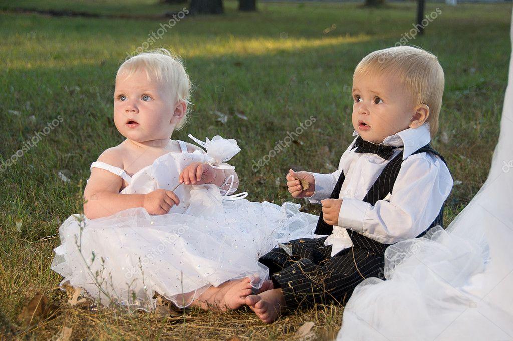 El Y De Novio Niños Novia Vestidos Wgqw8CI7x1