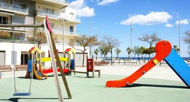 Children's playground in Badalona, Barcelona