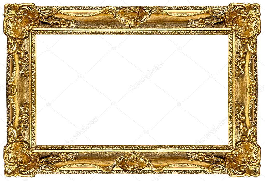 Marcos dorados para cuadros marco dorado para espejo o - Marcos de fotos dorados ...