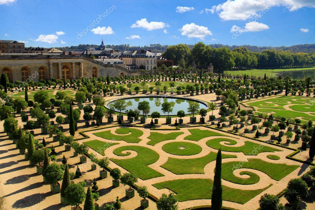Tuinen Van Versailles Stockfoto Smilingsunray 8713789