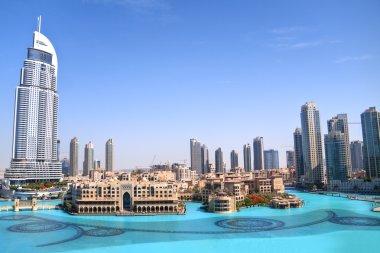Dubai skyline daytime