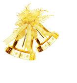 Fotografie Zlatý vánoční jingle bell