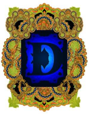 Letter D.