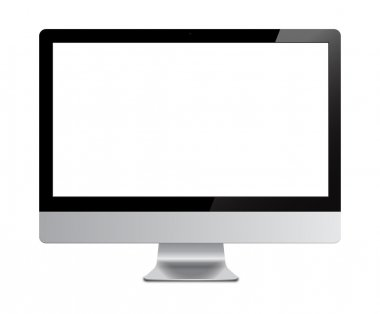 Screen computer isolated