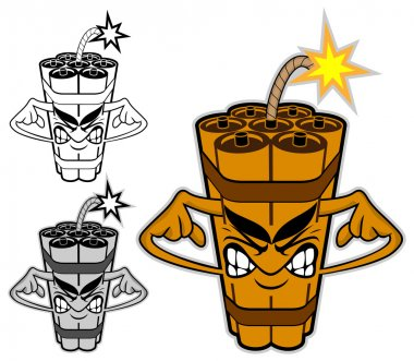 TNT cartoon character 2