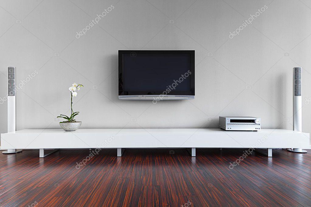 moderne woonkamer interieur — Stockfoto © antagonist #10496264