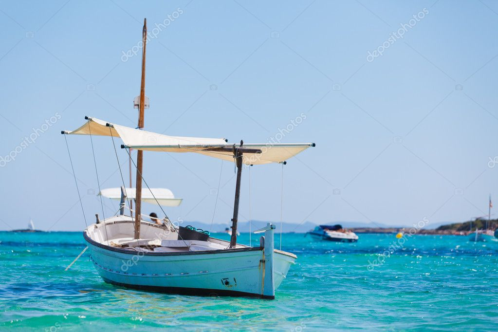 Boat In Bay