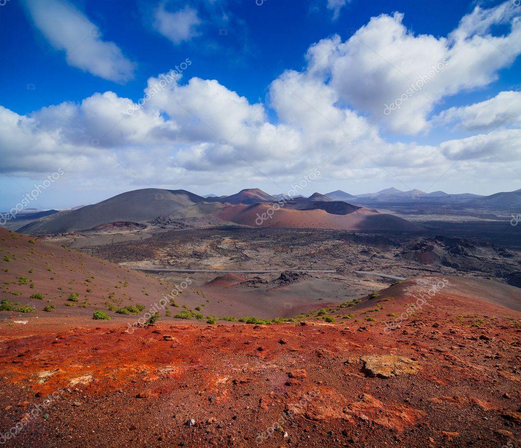 Mountains of fire,Timanfaya