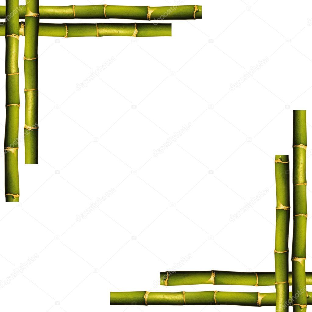 Bambus-Rahmen — Stockfoto © sserdarbasak #10630800
