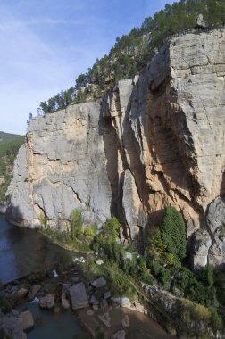 Narrow valley