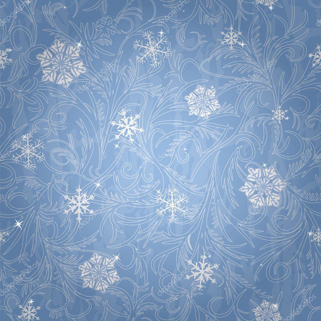 Beautiful winter seamless pattern