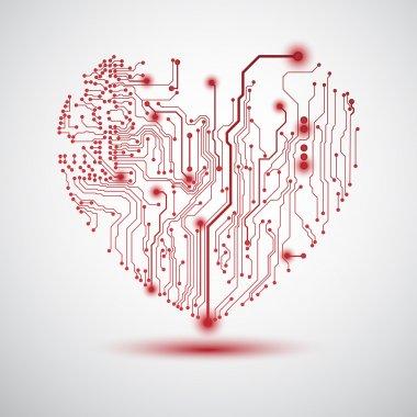 Heart electric board