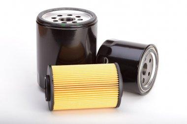 Three new oil filters