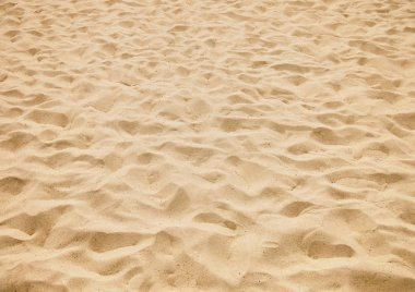 Texture of yellow sand