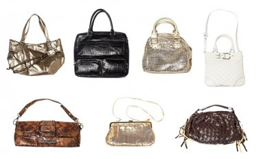 Set of women handbags
