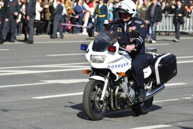 Russian police officer