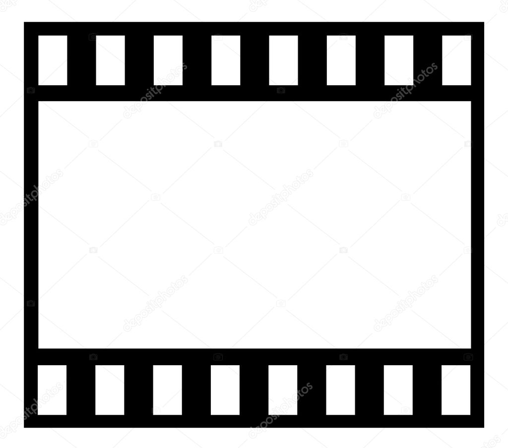 film strip stock vector konstsem 7994705 rh depositphotos com vector film strip font vector film strip font
