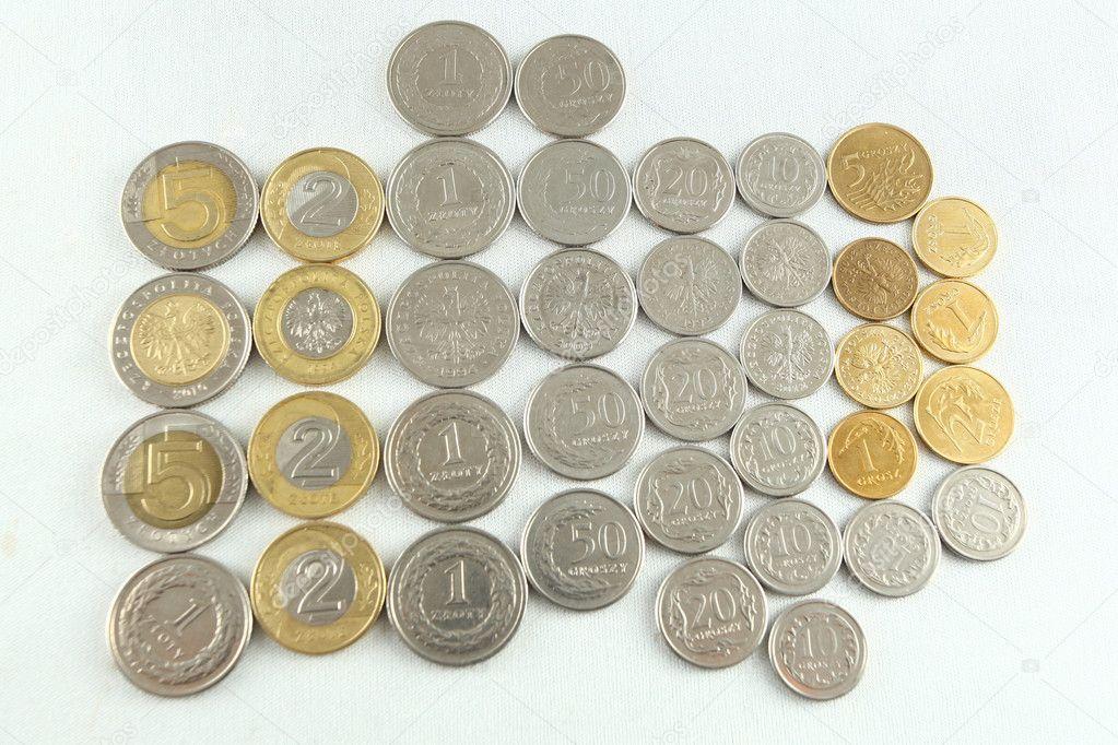 Polnische Währung Zloty Stockfoto Andreshka1 10583235