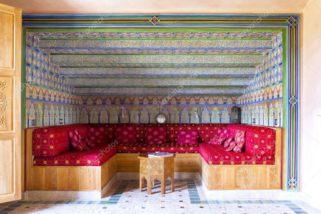 décoration de style arabe de salon — Photographie KarSol © #9771892